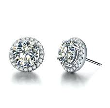 diamond stud earrings melbourne white gold diamond studs earrings 1 white gold diamond stud