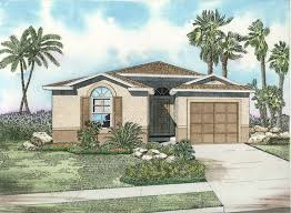 one story mediterranean house plans 27 best house plan model images on car garage floor