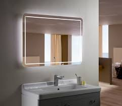 prepare install backlit bathroom mirror u2014 home ideas collection
