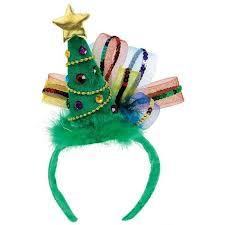 christmas headbands christmas headband christmas tree sparkle