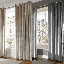 Curtains Ring Top Velvet Designer Ready Made Lined Eyelet Ring Top Curtains
