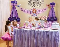sofia the party supplies sofia the birthday party party ideas