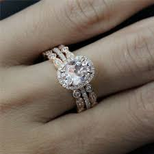Engagement Rings And Wedding Bands by Best 25 Double Wedding Bands Ideas On Pinterest Moissanite