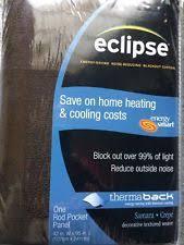 Eclipse Samara Blackout Curtains Eclipse Contemporary Width Curtains Drapes U0026 Valances Ebay