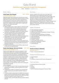 Cover Letter For A Resume Example by Logistics Cv Examples And Template