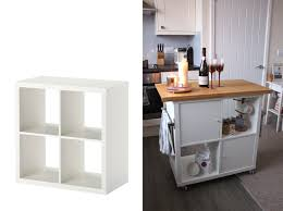 ikea kitchen cabinets on wheels 7 ikea hacks for your kitchen that you can actually do bon