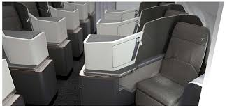 thompson vantage solo airbus a320 boeing 737 business class seat