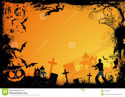 free halloween powerpoint background orange halloween theme royalty free stock images image 11066849