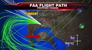 Traffic Map San Diego by Faa Flight Path Changes News San Diego Ca