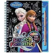 disney frozen scratch fantastic activity book disney frozen
