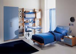 boys modern bedrooms wooden wardrobe white rectangular study table