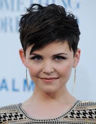 short hairstyles for a high forehead fierce fringe by ana