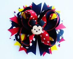 back to school hair bows poppy inspired hair bow trolls hair bow by crystalnruby on etsy
