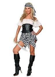 Female Pirate Halloween Costumes Womens Shoulder Pirate Halloween Costume White