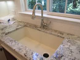bisque kitchen faucets kitchen faucet bisque color awesome sink blanco silgranit in