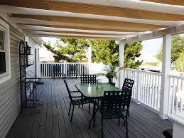 deck awning and canopies permanent awnings ideas three extremely