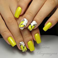 yellow butterfly nail best ideas about butterfly nail on