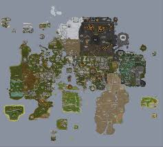 Find Map Coordinates Runescape World Map A Complete Map Of Runescape