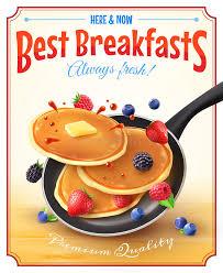 affiche cuisine vintage la meilleure affiche de publicité de vintage de petits déjeuners