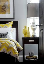 chambre grise et chambre grise et jaune 25 exemples élégants