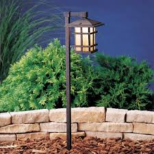 kichler lighting customer service kichler 15232agz one light path u0026 spread landscape path lights