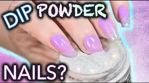 diy dip powder nails do not snort youtube