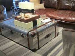 Vintage Trunk Coffee Table Coffee Table Trunks Coffee Tables Rustic Chest Coffee Table Metal