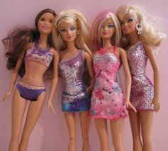 barbie body image connection