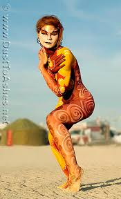 paint man burning man body painting center c dust to ashes