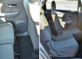 toyota prius legroom how the 2014 prius v review compares to other hybrid models makes