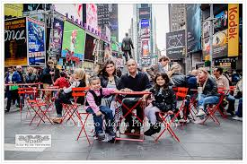 photographers in nyc family portrait photography session in times square new york