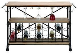 metal wood wine table modern wine racks by brimfield u0026 may