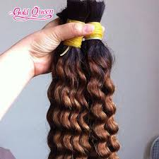 7a hot ombre human hair brazilian two tone human hair braiding