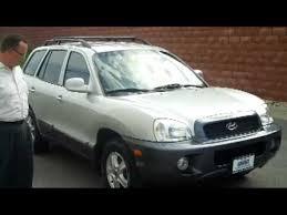 2002 hyundai santa fe v6 2002 hyundai santa fe gls v6 4wd for sale at honda cars of