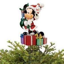 new nib disney minnie mouse resin tree topper