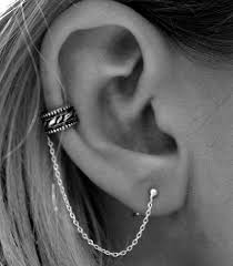 ear cuff piercing best 25 ear cuffs ideas on cartilage piercing