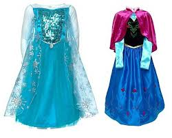 Elsa Halloween Costume Girls Anna U0026 Elsa Dress Cosplay Costume Frozen Kc 0001 Buy Elsa