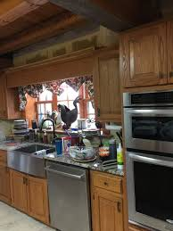 need help picking out paint color for log cabin kitchen