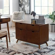 Desk With Filing Cabinet Drawer Filing Cabinets Hayneedle