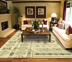 Large Contemporary Rugs Modern Casual Turkish Kilim Style Rug 8 5 Cream Blue Beige Brown