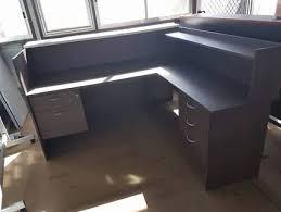 Gumtree Reception Desk Office Reception Desk U0026 Bookcase Suitable For Your Workshop