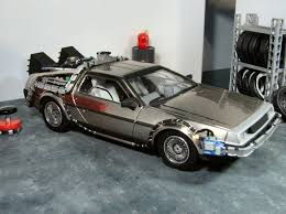 Polar Lights Models Polar Lights Delorean Time Machine My Scale Models Pinterest