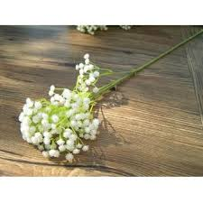 silk baby s breath artificial babys breath gypsophila silk flowers bouquet