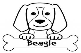 beagle coloring pages dog puppy gianfreda net