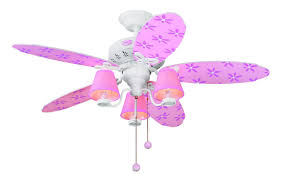 Pink Chandelier Light Total Fab Ceiling Fans With Lights For Little U0026 Teen Girls U0027 Rooms