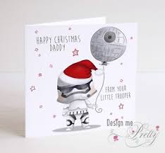 wars christmas card wars stormtrooper christmas card for ebay