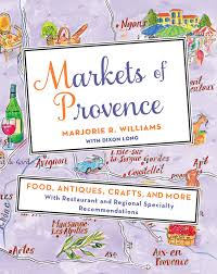 Map Of Provence Markets Of Provence Marjorie R Williams Macmillan