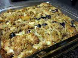 banana blueberry bread pudding 30 bucks a week