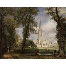 bureau vall馥 rouen salisbury cathedral from the bishop s garden 1826 constable