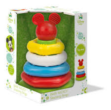 baby toy rings images Mickey mouse stacking rings baby clementoni